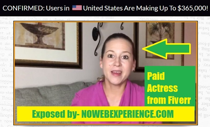 Lady from Kindle Sniper sales video is actually a paid actress from fiverr