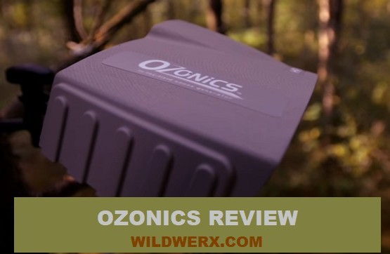 Photo of the Ozonics HR200 mounted to a tree