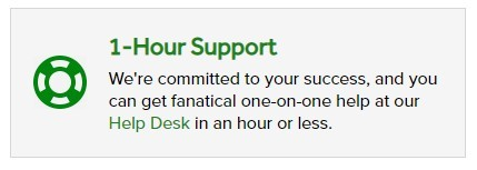 one hour support from Click Magic