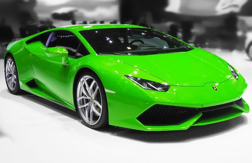 This is an image of a lamborghini and how to work at home free training- with no web experience