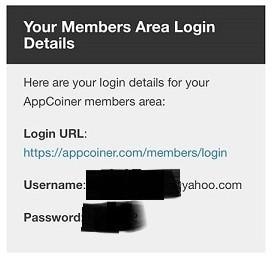 Member log in for Viral Cash App