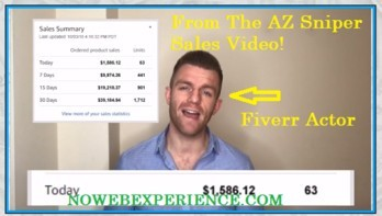 This image is a paid actor in the AZ Sniper scam video