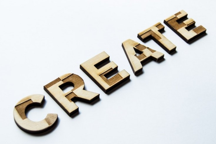 This image says create to become an online entrepreneur