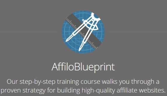 picture of the Affilorama Affilio Blueprint training outline