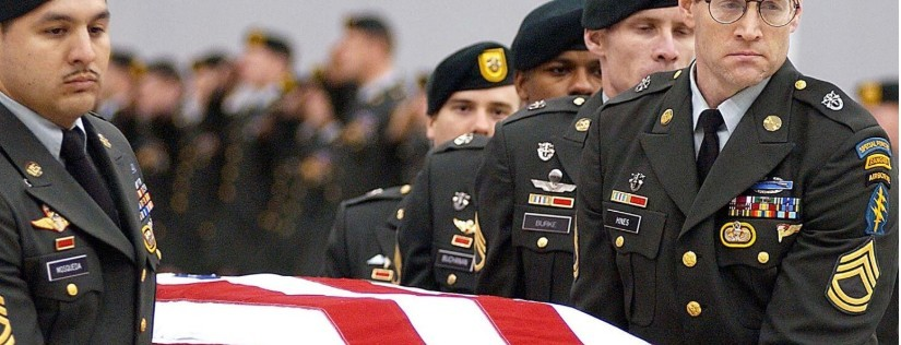 Military funeral of the husband or the lady who created 30 Day Success Club
