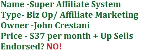 What Is Super Affiliate System Pricing?