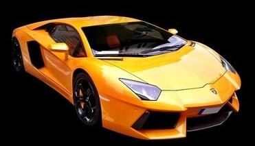This is an image of a Lamborghini and the discussion of Hustle and Grind Your Way To Financial Freedom At Any Age