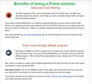 Udimi review and the benefits of prime membership
