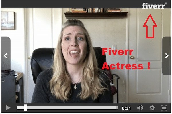photo of a paid actress on fiverr who gives the testimonials for The AZ Formula