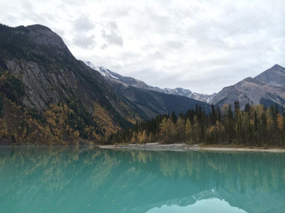 Berg Lake Trail - Kinney Lake