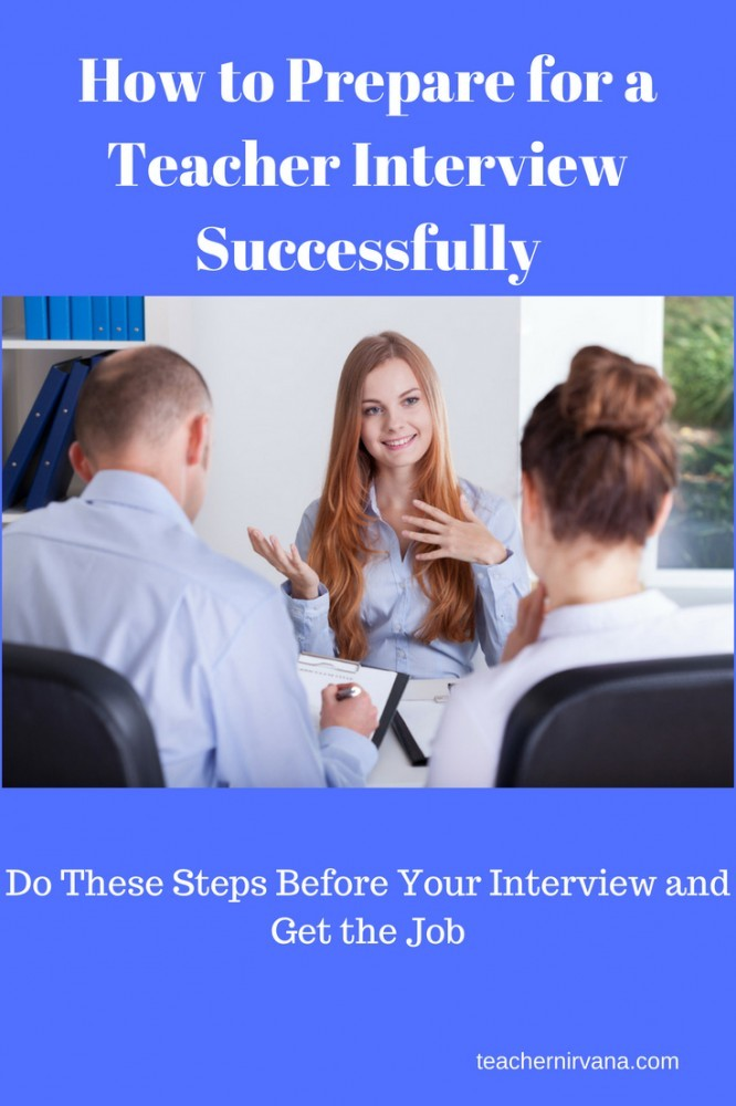 How To Prepare for a Teacher Interview