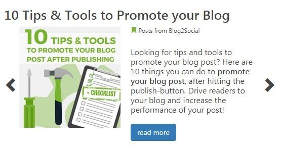 Blog Tips from Blog2Social