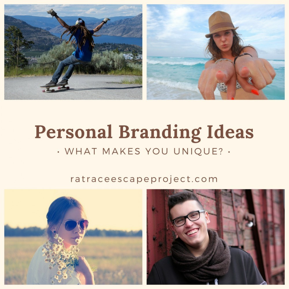 Personal Branding Ideas graphic