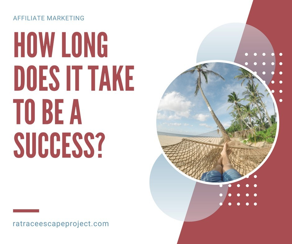 How long does it take to be a successful affiliate marketer?