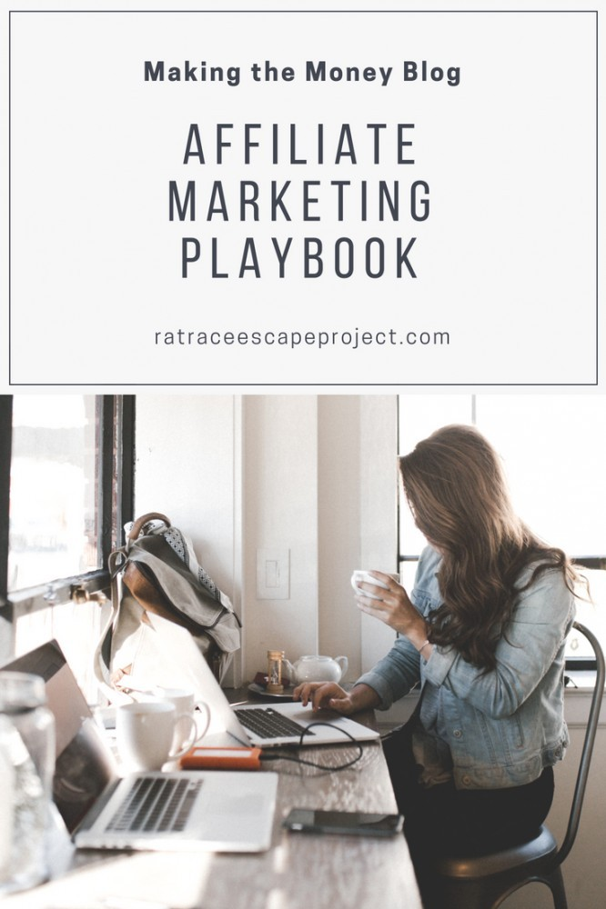 Affiliate Marketing Playbook - Making The Money Blog graphic