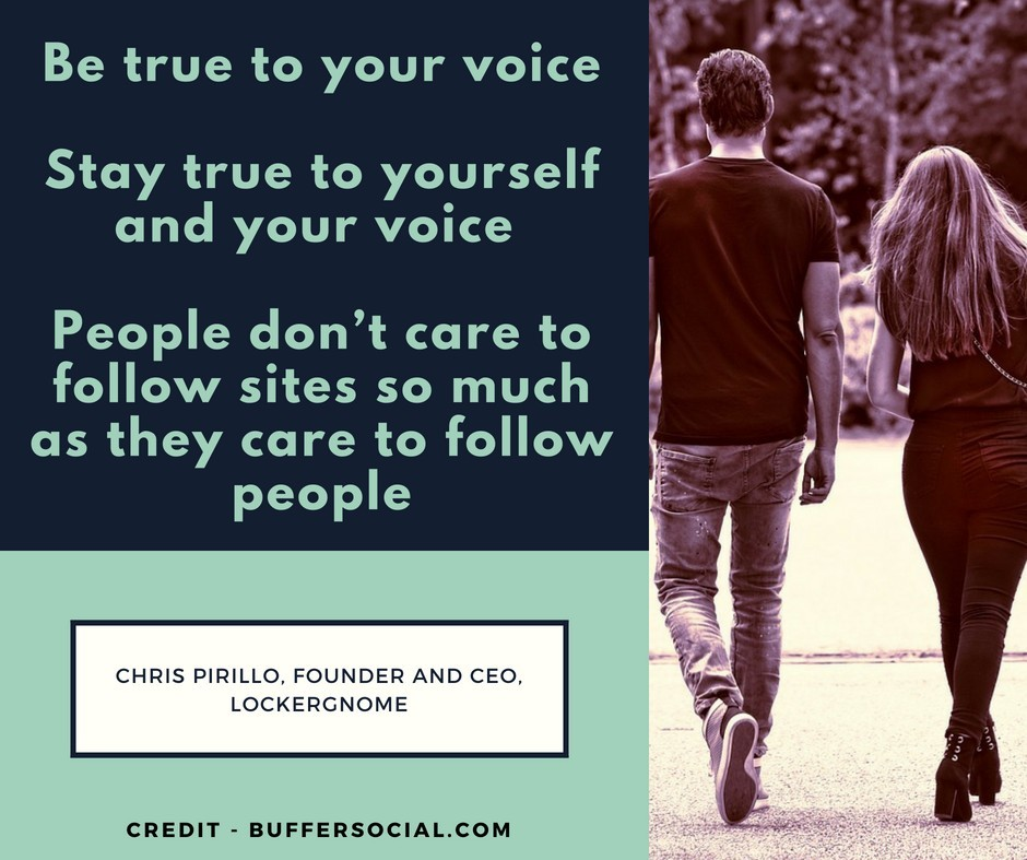 Be True To Your Voice Quote