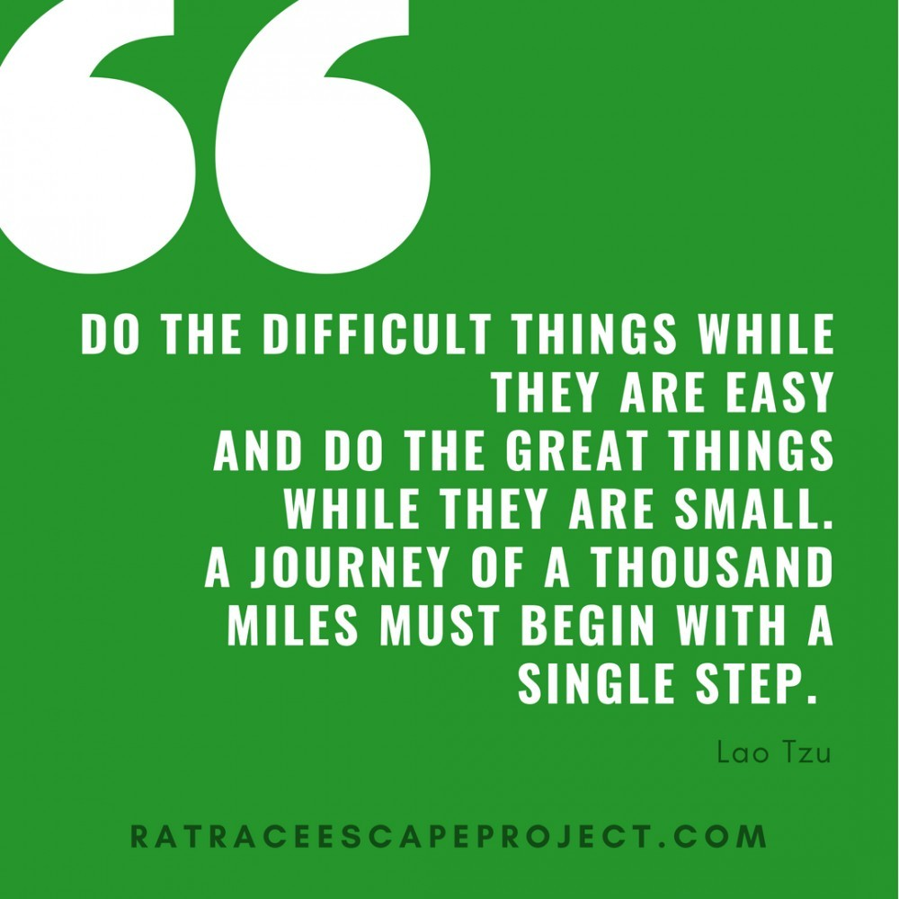 Do The Difficult Things Quote