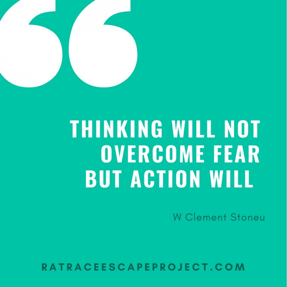 Thinking will not overcome quote