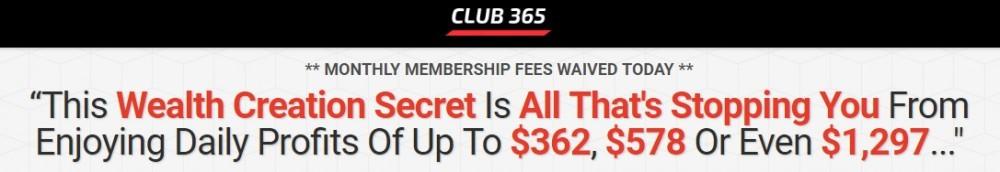club 365 claims