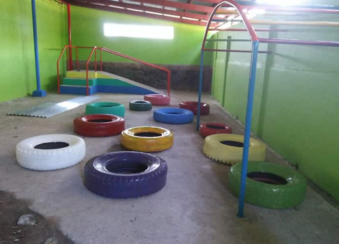 Special kids' indoor play area