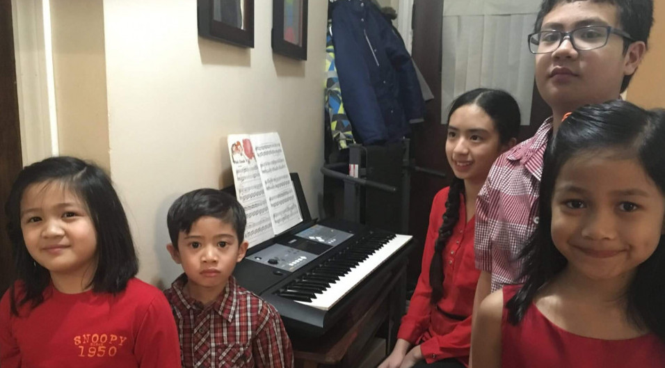 How to share your blessings. piano fundraising