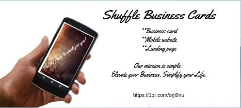 Shuffle Business cards