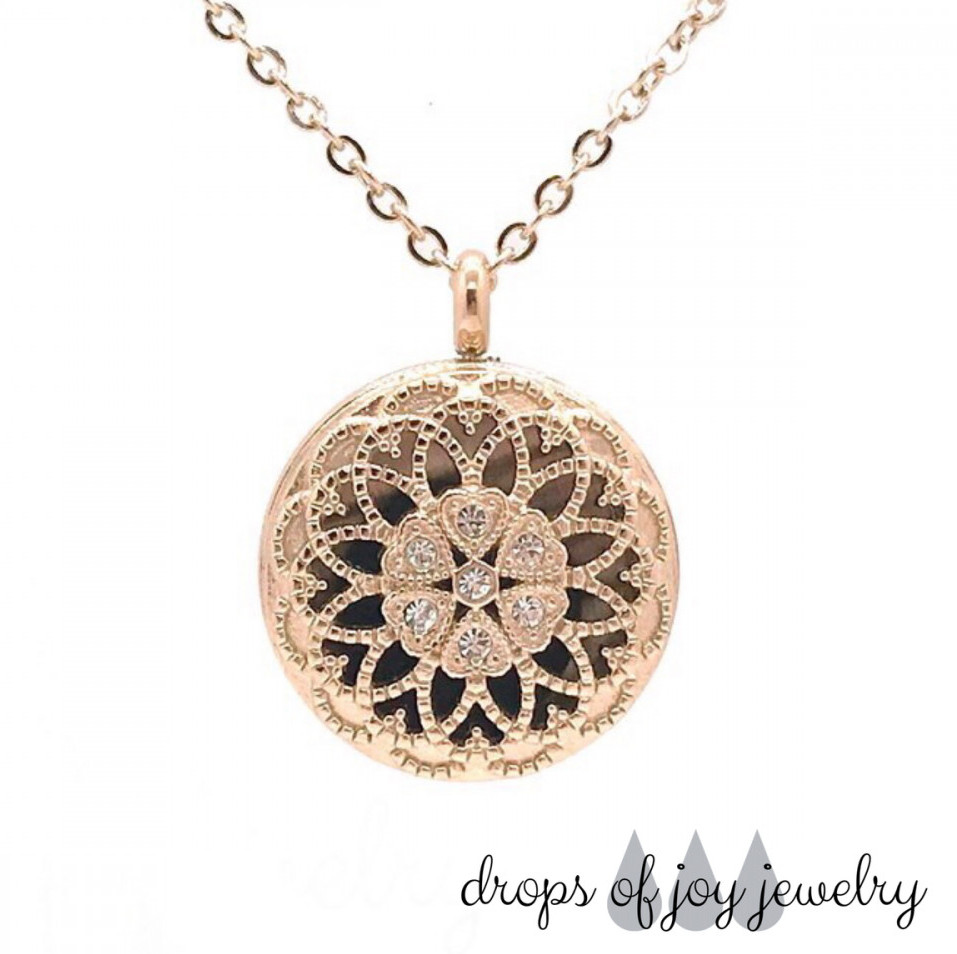 The Spice Routes essential oil diffuser necklace