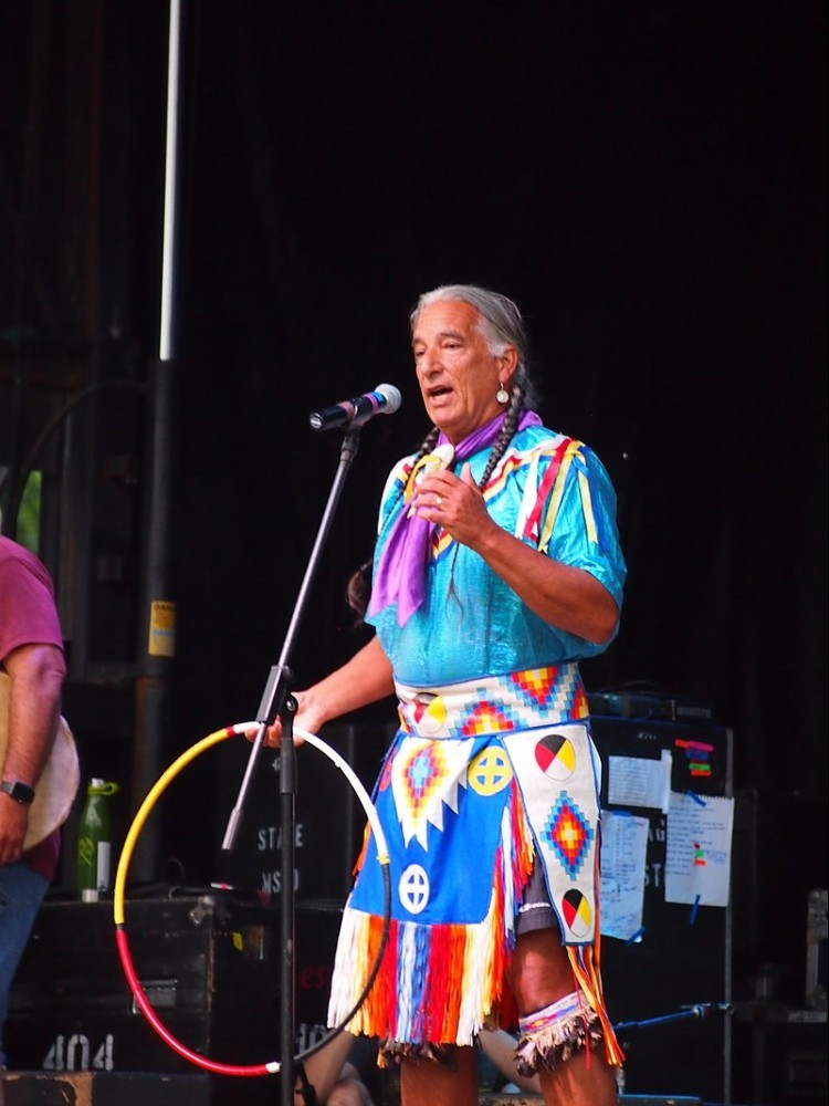Kevin Locke performing at 2016 Ralph Rinzler Memorial Concert, Smithsonian Folklife festival