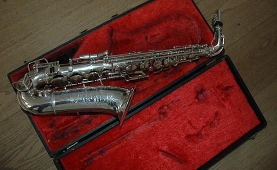 Saxaphone music instrument