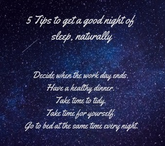 5 tips for sleep