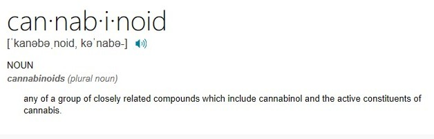 defination of cannabinoid