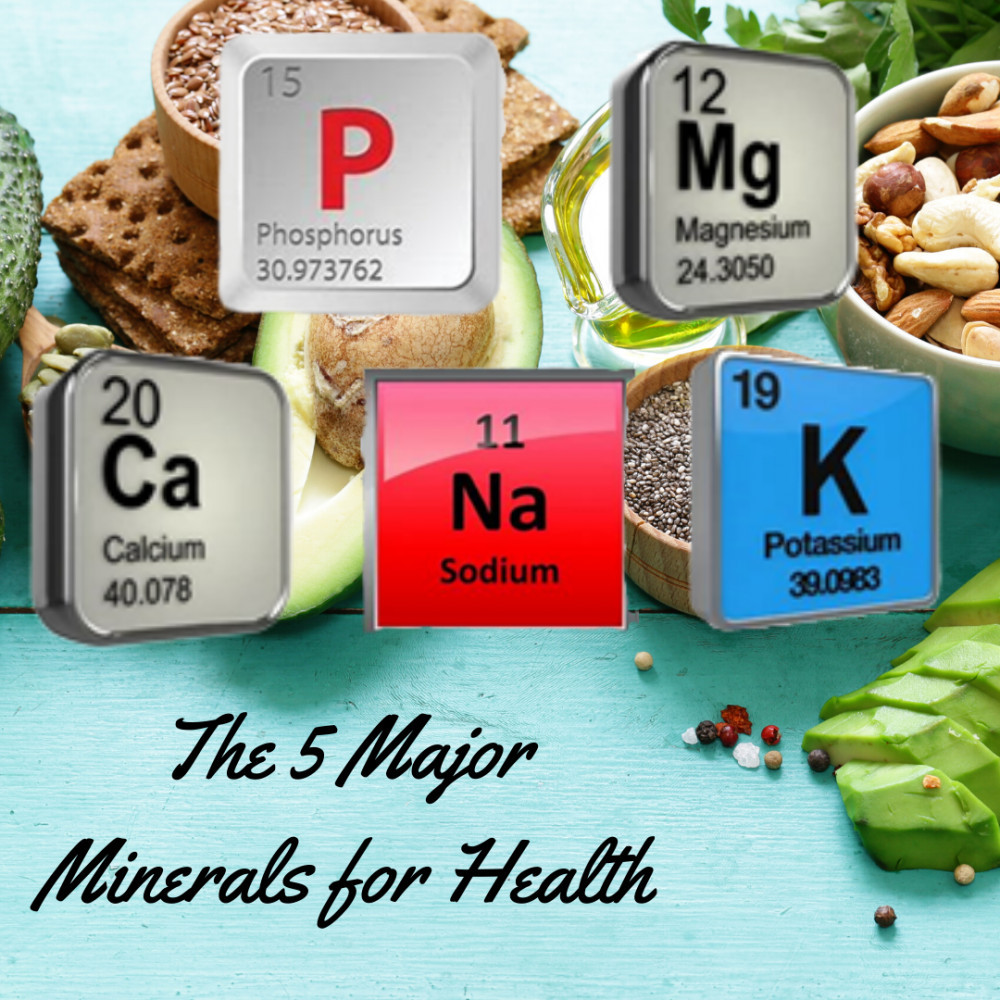 5 Major Minerals for Health