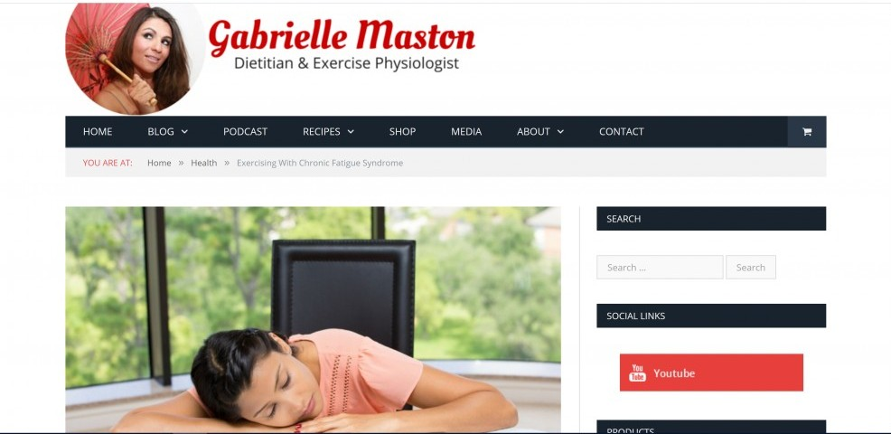 top 10 influencers we love gabrielle maston