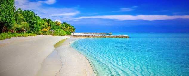 Where is Kiribati - beach