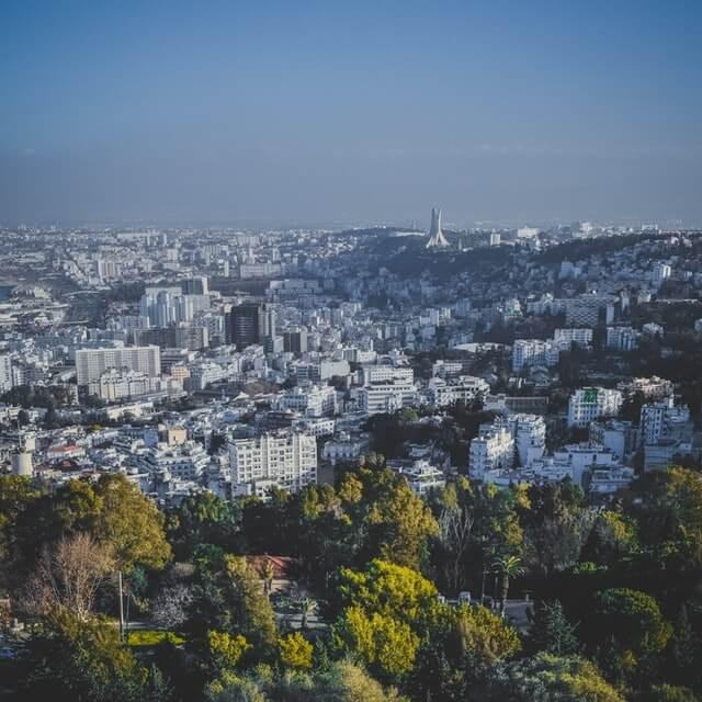 Constantine In Algeria -- Town View