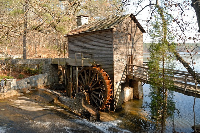 Where Is The Country Of Georgia - Grist Mill