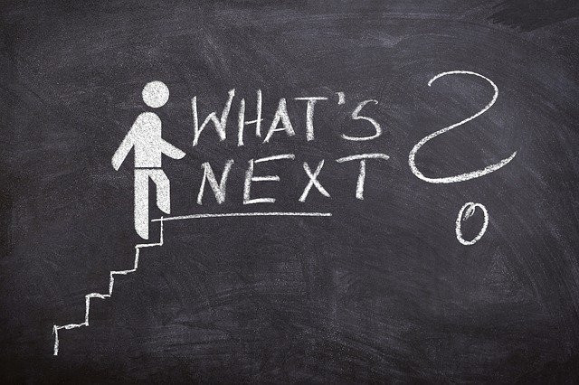 What Is The Next Step In Life - Just One