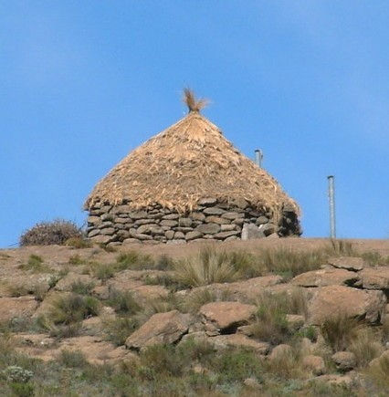 Lesotho African Hut