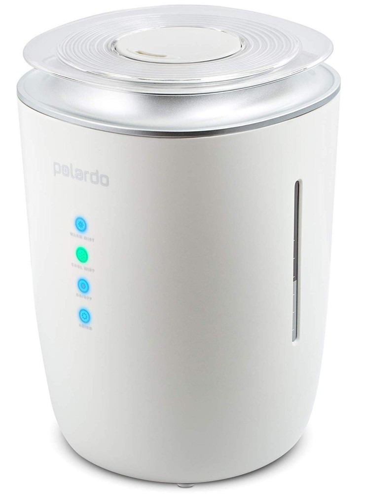 This humidifier holds a whopping 4L of water!