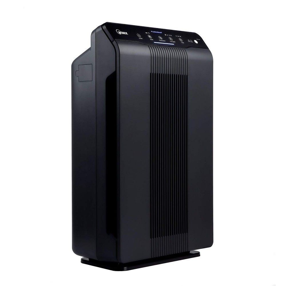 the Winix 5500-2 features a plasma wave to break down the molecules of very small air particles that can't be filtered.