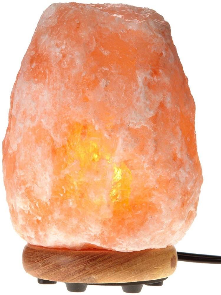 This salt lamp is 100% pure Himalayan rock salt.