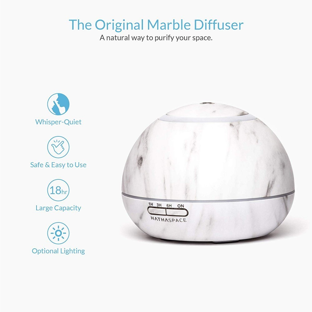 This diffuser is BPA free and made out of marble.