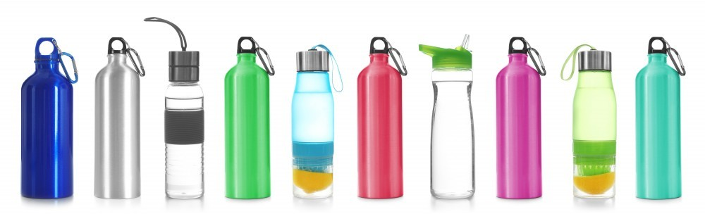 Water bottles are intentionally made for different uses and activities.