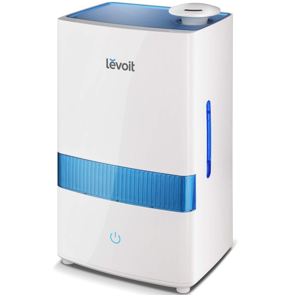 Levoit has superior quality and this unit can old 4.5L of water.