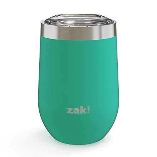 Zak Designs wine tumblers are spill free!
