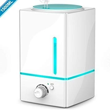 This diffuser has a very large 1500mL tank that can last 10-20 hours of continuous use