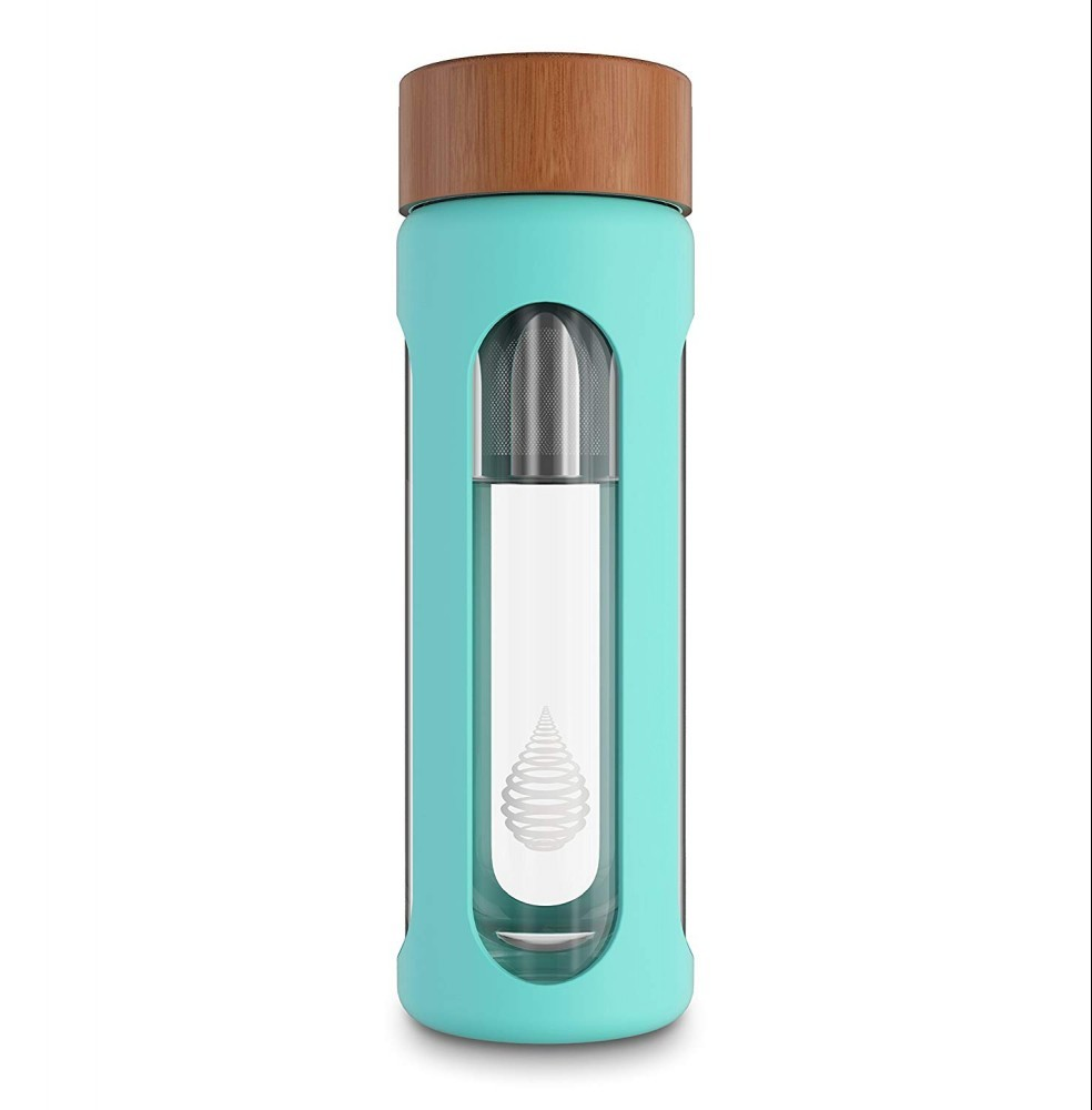 This bottle filters, ionizes, and alkalizes your water for premium quality and taste.