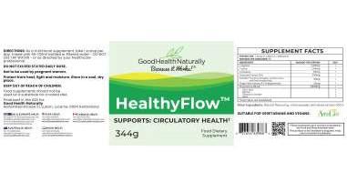 Healthyflow TM ingredients