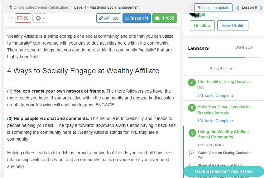 how good is wealthy affiliate