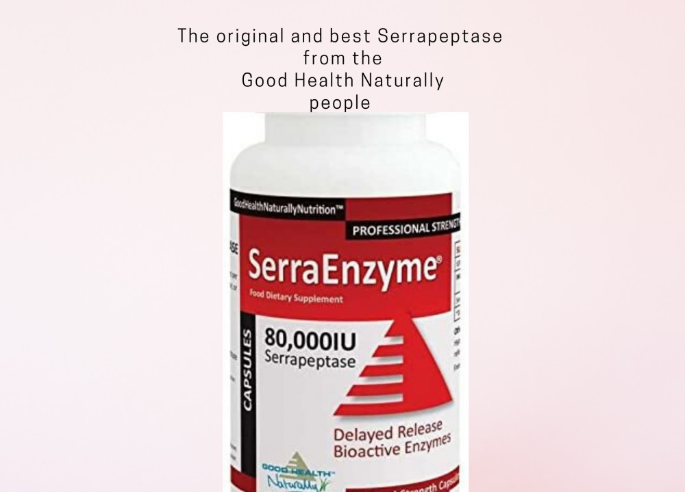 The original and best Serrapeptase enzyme